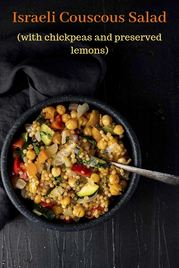 Israeli Couscous Salad With Chickpeas Went Here 8 This