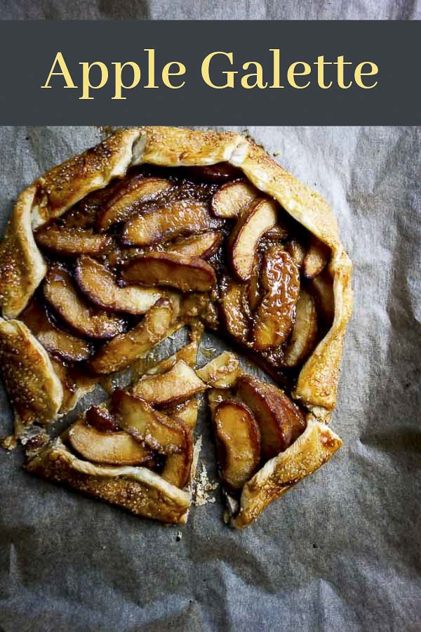 Salted Caramel Apple Galette Recipe