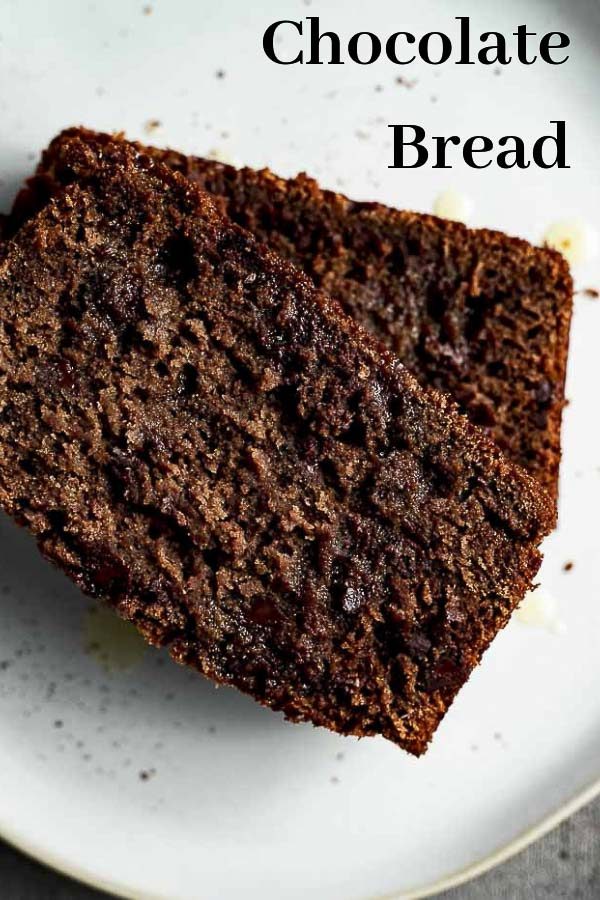This amazingly delicious and rich Orange Chocolate Bread is made with cocoa powder, orange zest, orange juice, buttermilk and filled with creamy chocolate chips...and then topped with the most amazing homemade orange glaze for the most deliciously decadent chocolate bread you\'ll ever eat! This Chocolate Bread recipe is one of the easiest breads ever, and is sure to be a crowd pleaser. #wenthere8this #chocolatebread #quickbread #chocolatedesserts