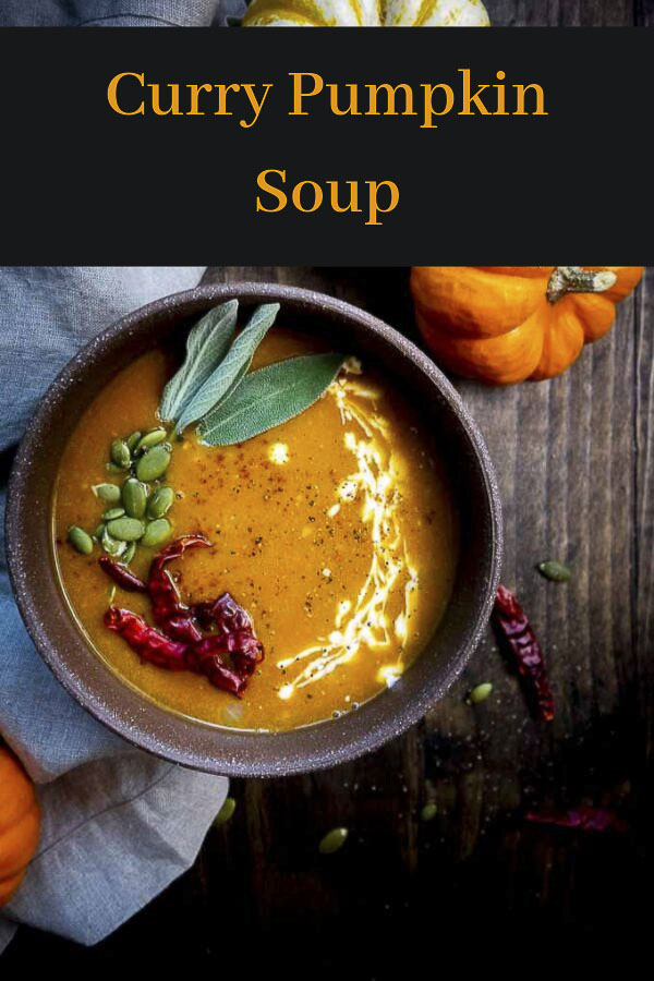 Coconut Curry Pumpkin Soup Recipe