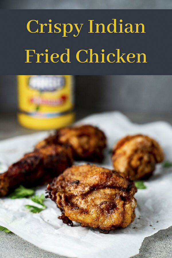 #ad This Indian Fried Chicken is marinated in yogurt and spices, coated in cornstarch, and deep fried to a perfectly crisp golden brown. Crispy and flavorful! Masala fried chicken is so tender and juicy, with a crispy, crunchy outer coating, and packed with amazing flavors! This is the crispiest chicken you will ever make! Plus the garam masala, garlic, ginger and honey give the fried chicken incredible flavor. #wenthere8this #CrispyCreations #CollectiveBias #FriedChicken