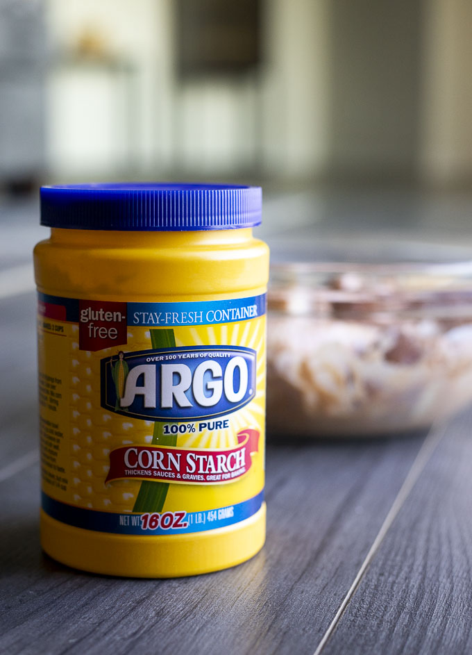 container of argo cornstarch