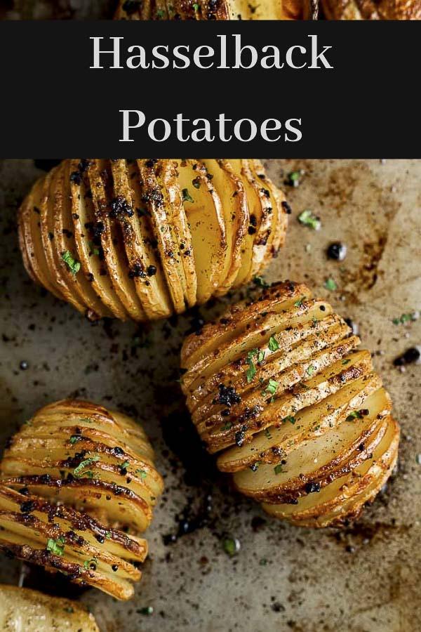 Hasselback Potato Recipe with Garlic