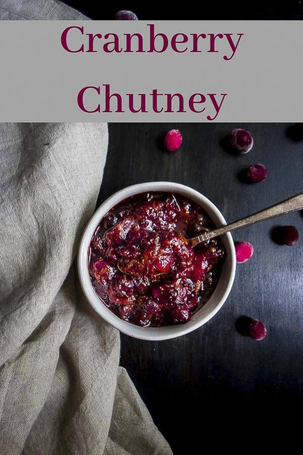 This 20 Minute Cranberry Chutney recipe has the perfect combination of sweet, tart and savory flavors for a great addition to dips, sandwiches, and meats! This chutney recipe is super easy to make and a great alternative for cranberry sauce at Thanksgiving dinner! Spread it on turkey sandwiches, use it as a dip, or serve it with curry - this cranberry chutney is great on everything!#wenthere8this #cranberrychutney #cranberrysauce