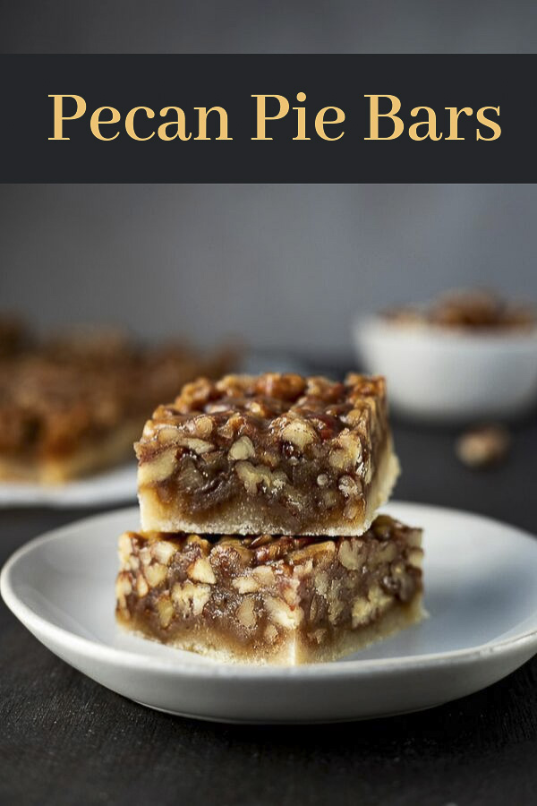 These Pecan Pie Bars with shortbread crust are one of the best things you will ever eat. Gooey, caramely, buttery goodness all on top of a easy shortbread crust, these maple pecan bars are sure to be a hit at your holiday party! This pecan bar recipe is super easy to make, taking very minimal effort for the best pecan squares you will ever taste! #wenthere8this #pecanpiebars #pecanpierecipe #pecanpie