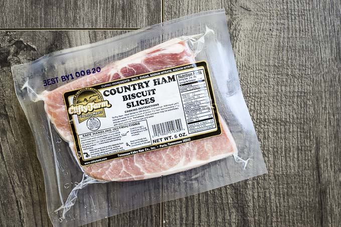 package of ham