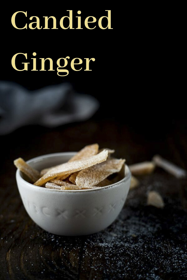 Candied Ginger Recipe (Crystallized Ginger)
