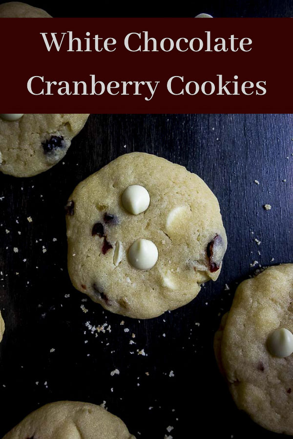 Cranberry Cookies with White Chocolate