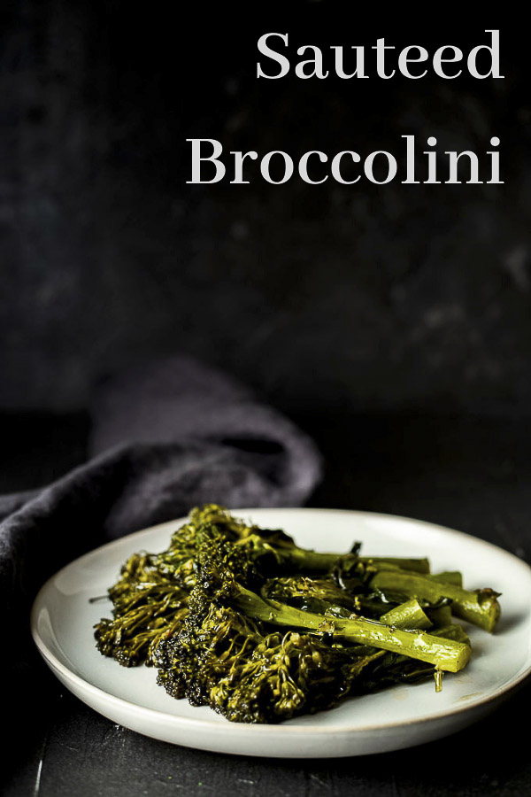 Sauteed Broccolini with Lemon and Garlic
