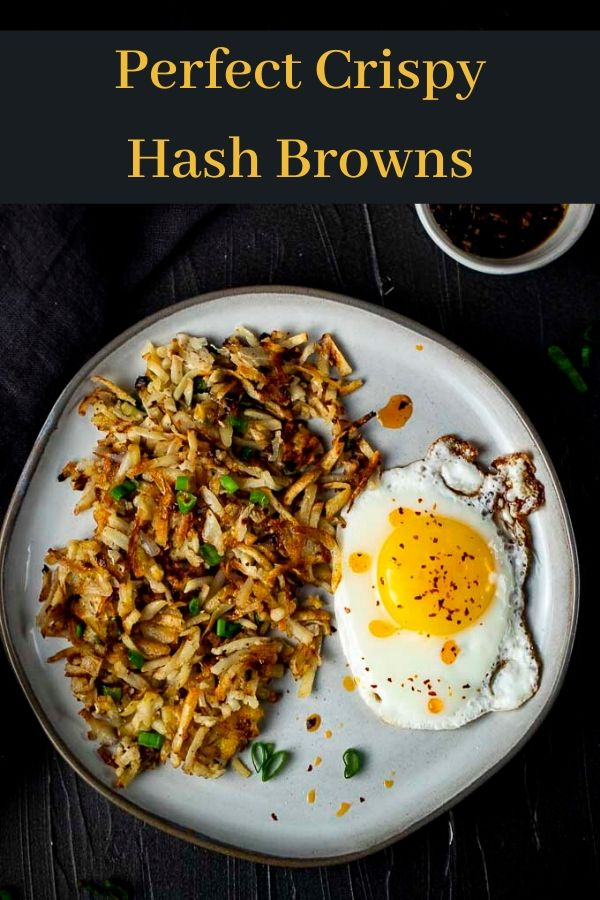 How to Make Crispy Hash Browns (Spicy Asian Style)