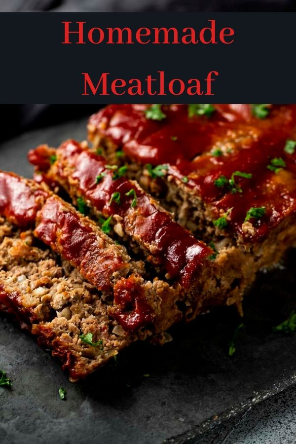 This Homemade Meatloaf is packed full of spicy, umami flavor and served with the most delicious ketchup based sauce. This supercharged meatloaf recipe is packed with incredible flavors, plus it\'s ultra easy to make. The perfect way to wow your family with minimal effort.