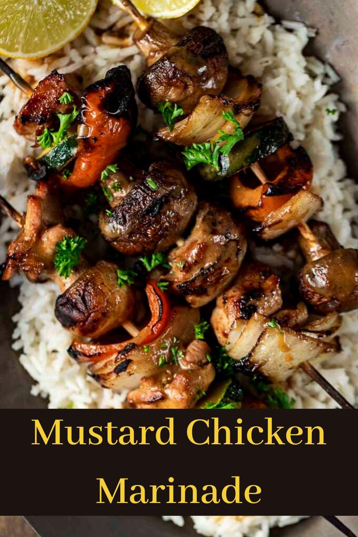 The Best Mustard Chicken Marinade