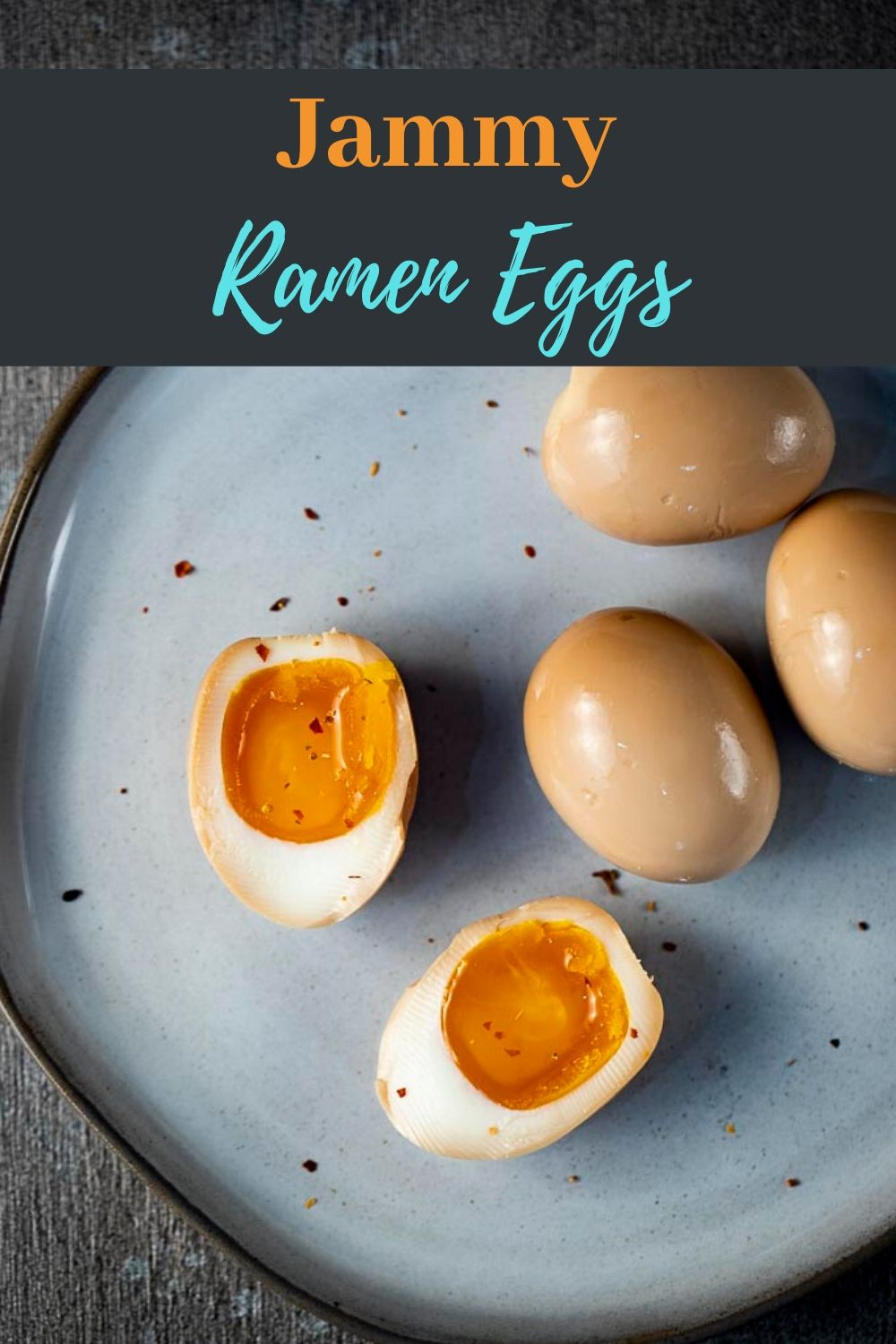 Slight salty, sweet and packed with umami goodness, these jammy, soft boiled Ramen Eggs are what life is all about. They are super easy to make and perfect in ramen, as a snack or any way you like them!