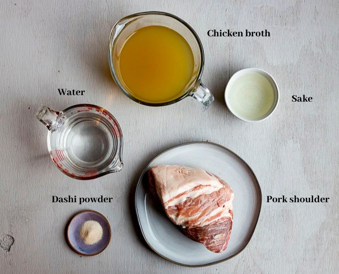 ingredients for instant pot pork
