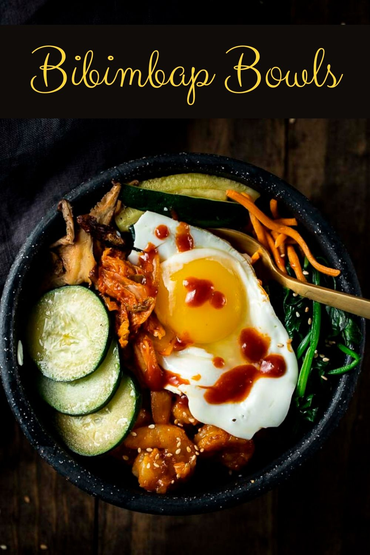 Korean Bibimbap Bowl (Korean Rice Bowl)