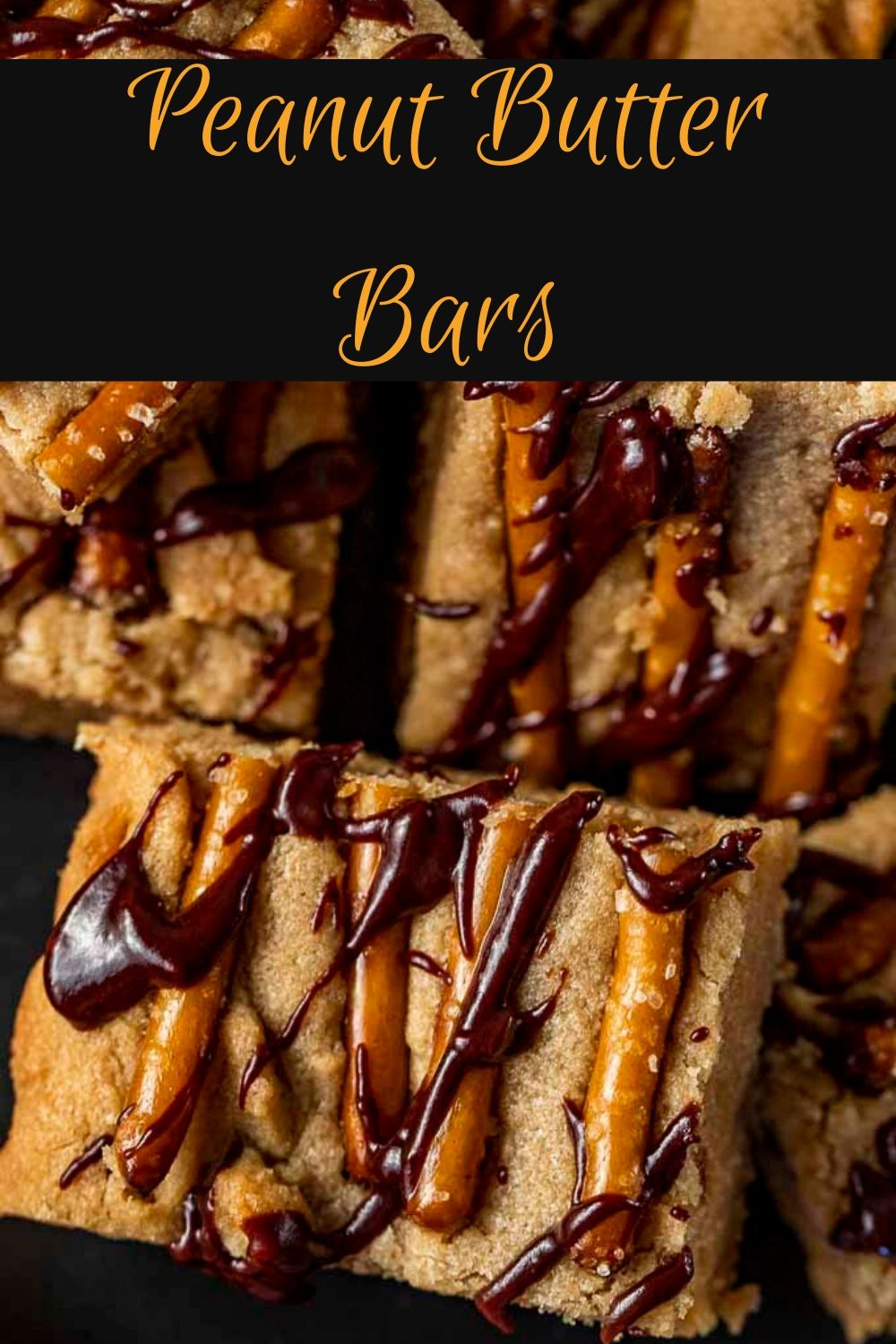 Sweet and Salty Peanut Butter Cookie Bars