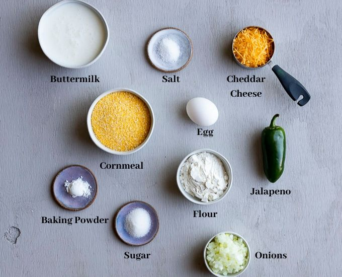 ingredients for hushpuppies