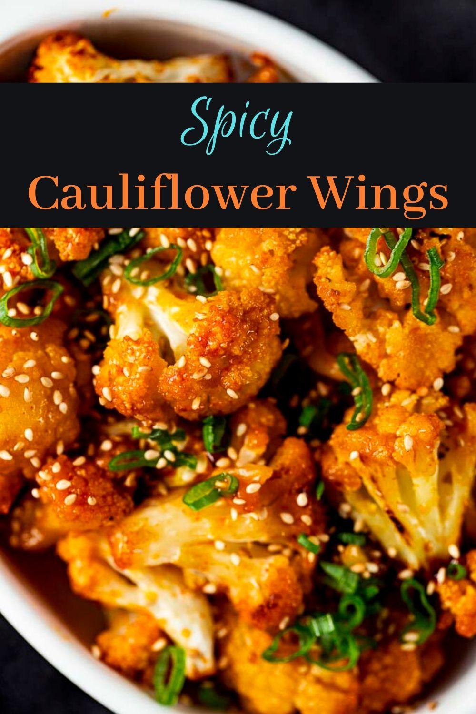 Spicy Korean Cauliflower Wings