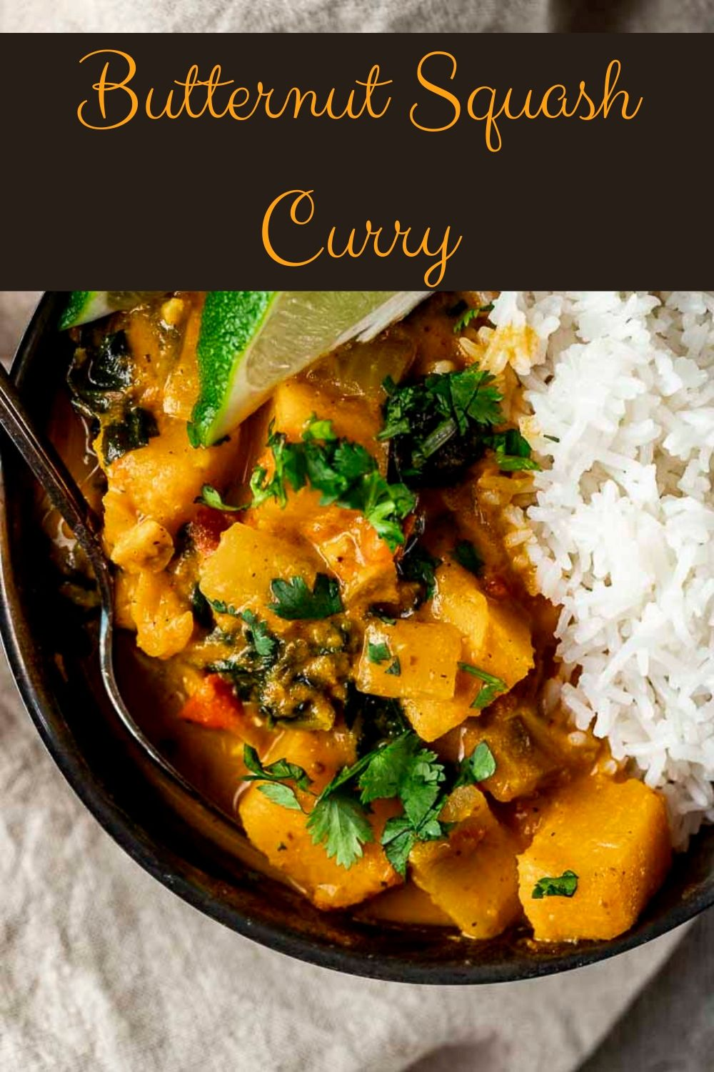 Easy Butternut Squash Curry