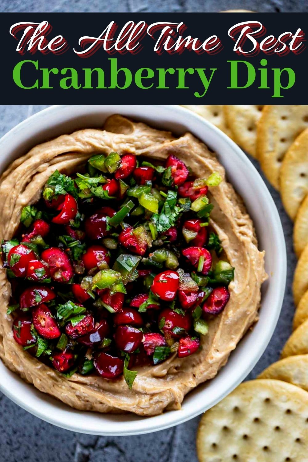 Cranberry Jalapeno Dip - The BEST Holiday Appetizer!