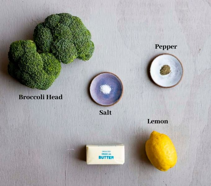 ingredients for instant pot broccoli