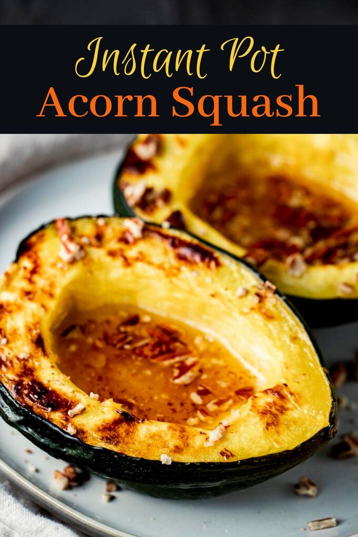 Instant Pot Acorn Squash