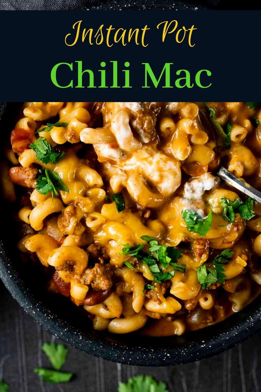 Instant Pot Chili Mac
