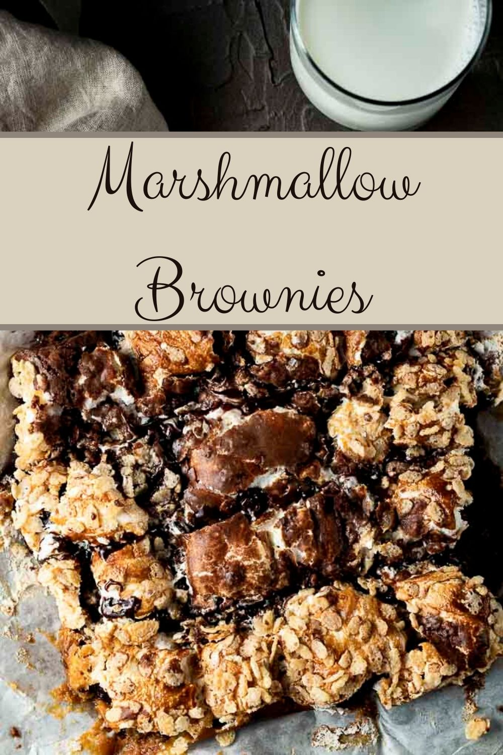 Caramel Marshmallow Brownies