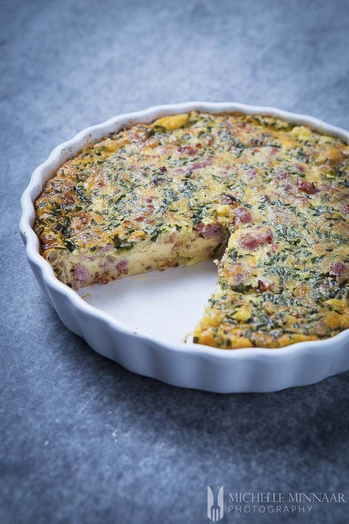 tart in a tart dish