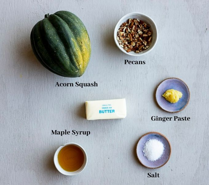ingredients for instant pot acorn squash