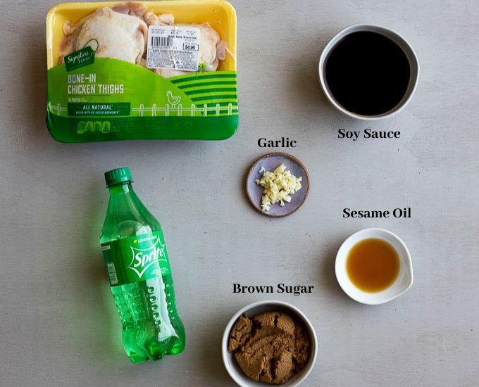 ingredients fr teriyaki chicken