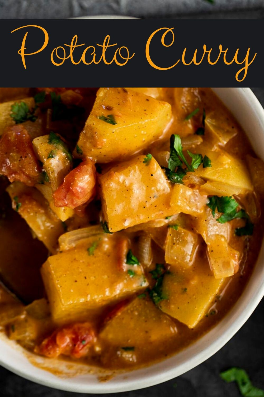 Spicy Potato Curry (Aloo Curry)