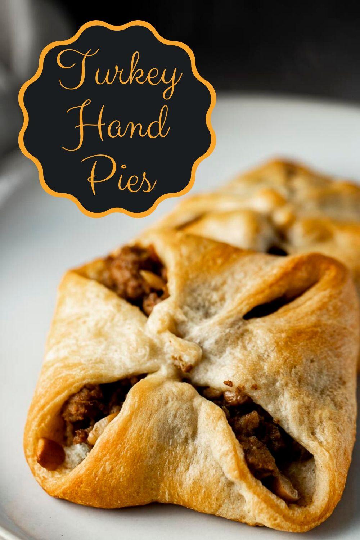 Leftover Turkey Hand Pies (Turkey Pastries)