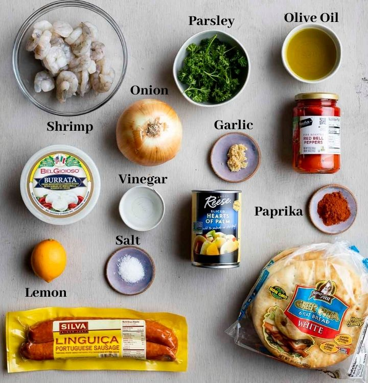 ingredients for brazilian pizza
