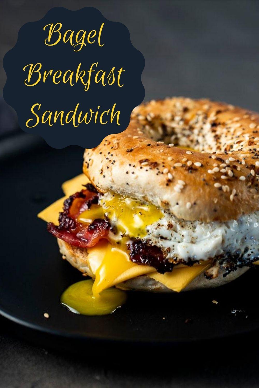 The Ultimate Bagel Breakfast Sandwich