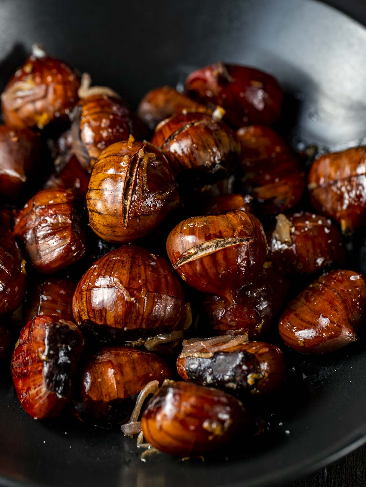Roasted Chestnuts With Orange Brandy Went Here 8 This
