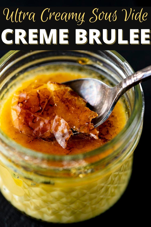 Sous Vide Creme Brulee (Vanilla)