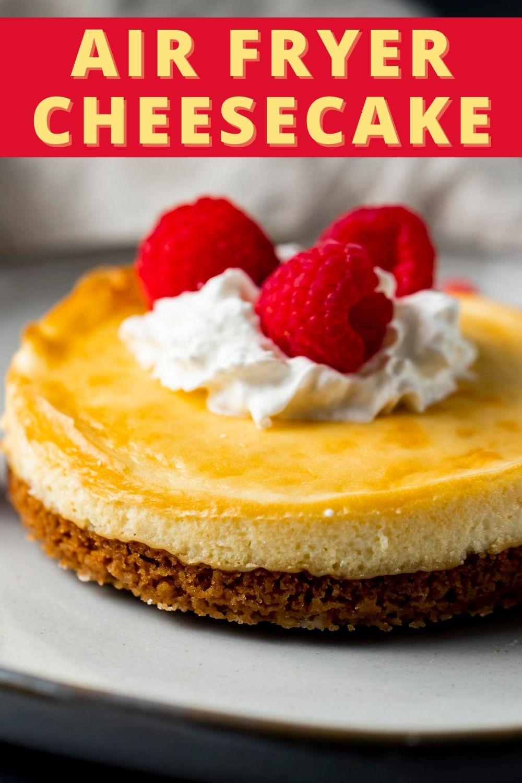 Air Fryer Cheesecake (Classic)