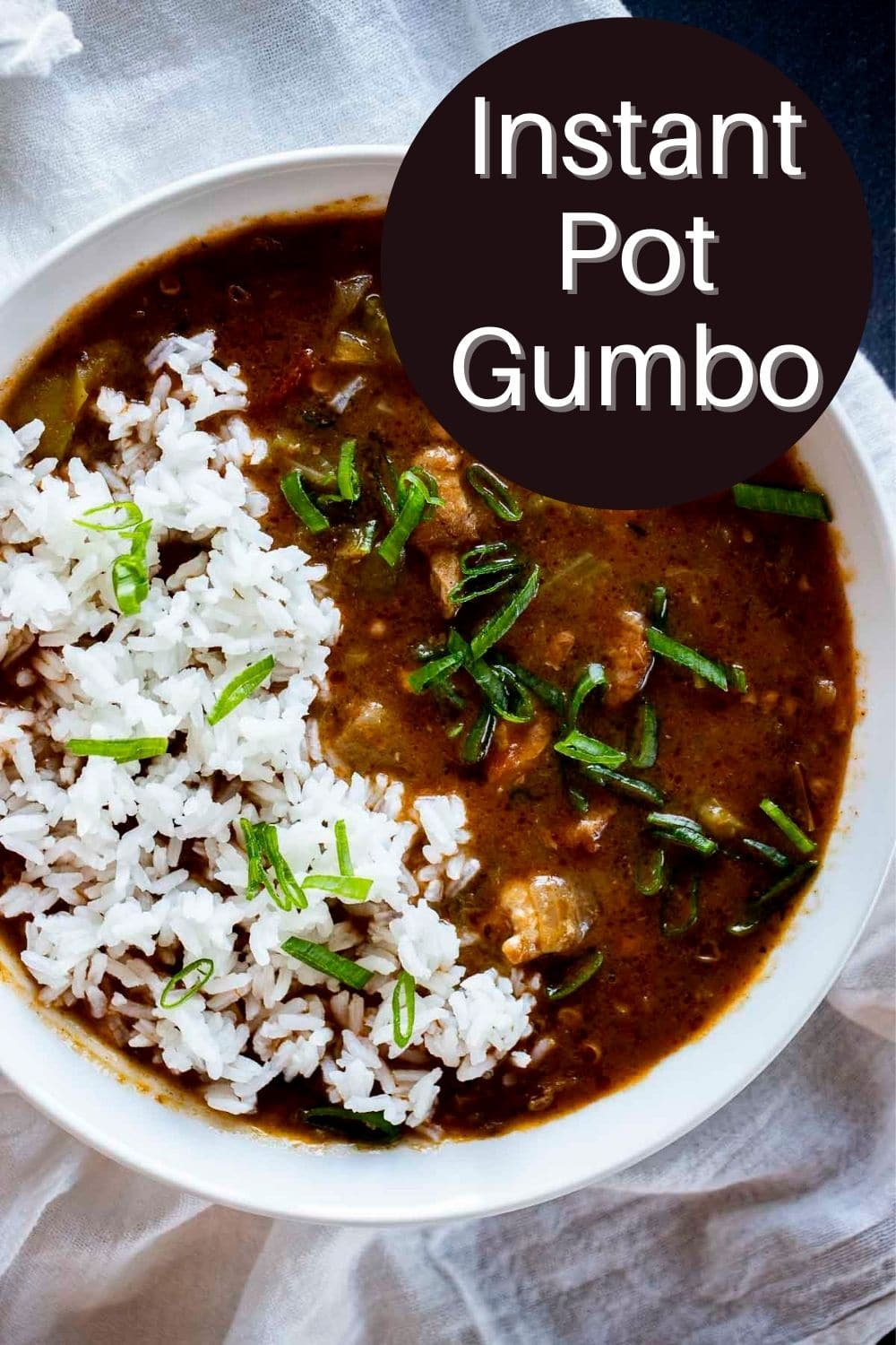 Instant Pot Gumbo (Chicken and Sausage)