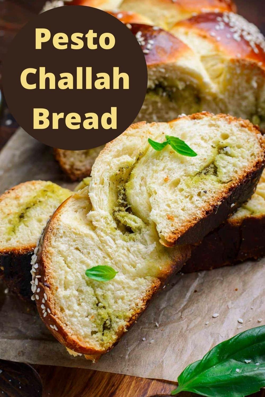 Parmesan Pesto Challah Bread Recipe