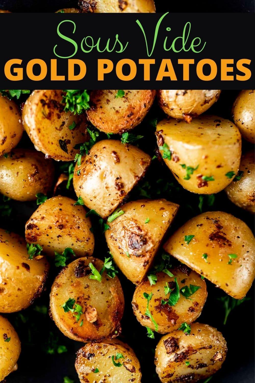 Sous Vide Potatoes (Mini Potatoes)